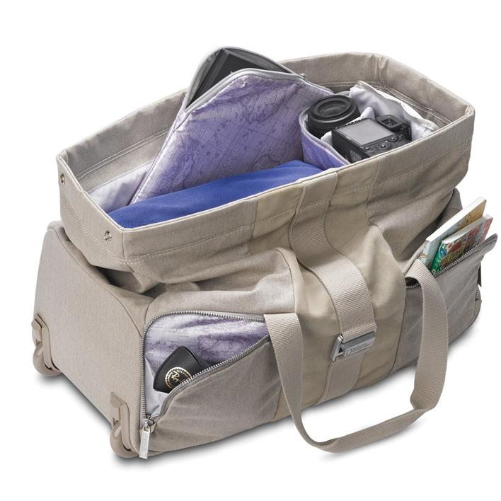 NATIONAL GEOGRAPHIC PRIVATE COLLECTION DUFFEL TROLLEY BAG NG P6130