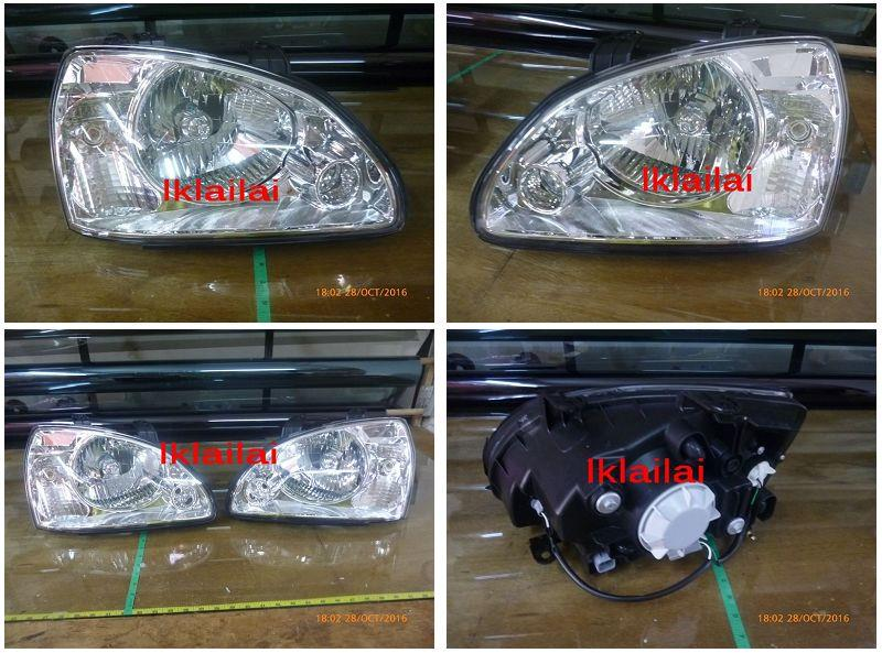 Naza Citra / Kia Carens Head Lamp [Per Pair]