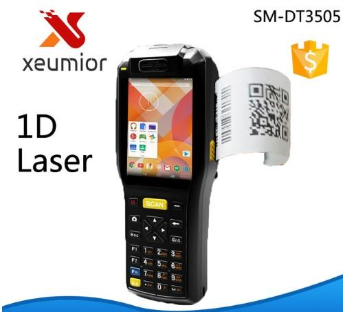 ndustrial pda Android Mobile Terminal with Thermal printer