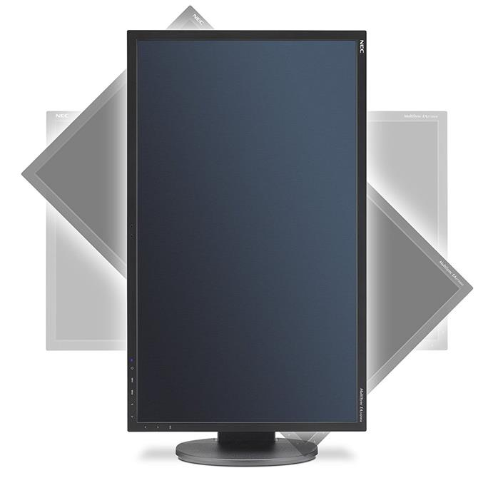 NEC MultiSync EA243WM 24'' FHD LED Backlight Monitor with human sensor