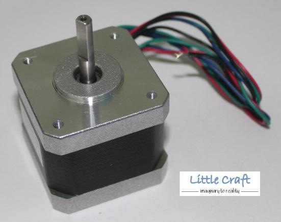 Nema17 Stepper Motor Single Flat 1.7A 4-Lead for 3D Printer