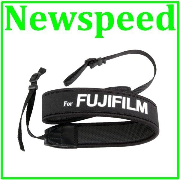 New Neoprene Soft Shoulder Neck Strap for Fujifilm DSLR Digital Camera