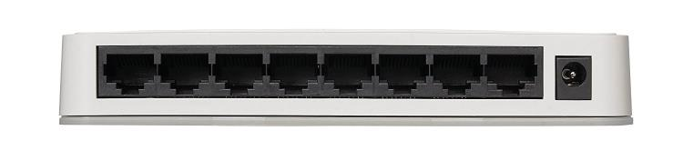 NETGEAR GS208-100UKS 8 Port Gigabit Ethernet Desktop Switch