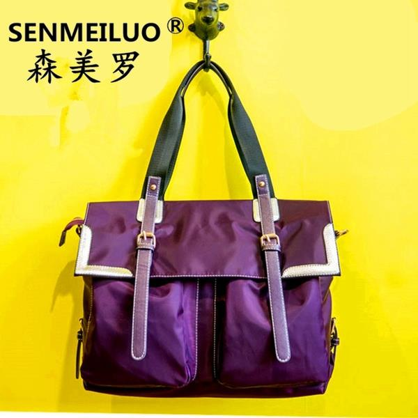 NEWEST-SPRING AND SUMMER WATERPROOF NYLON CASUAL CANVAS SHOULDER BAG