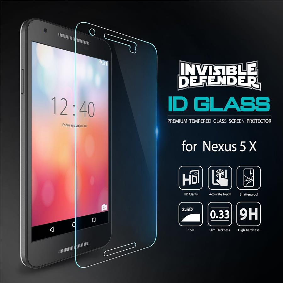[Nexus 5X] Ringke Invisible Defender Tempered Glass 0.33mm - Nexus 5X