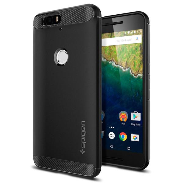 Nexus 6P Case, Spigen Rugged Armor (Black)
