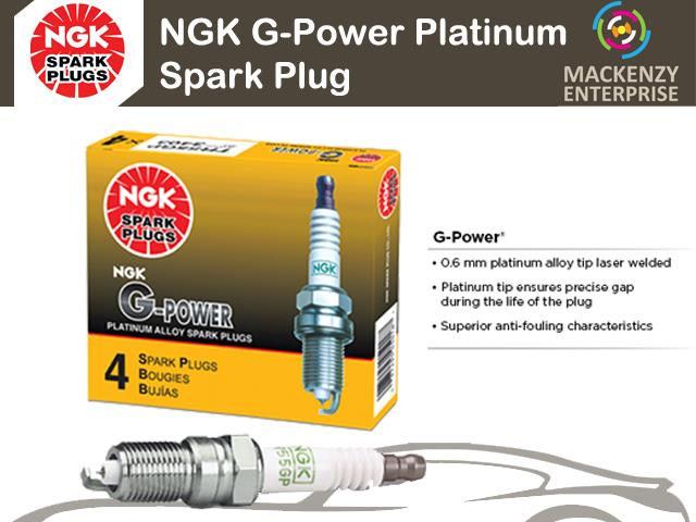 NGK G-Power Platinum Spark Plug for Toyota Corolla 1.6 SEG (AE111)