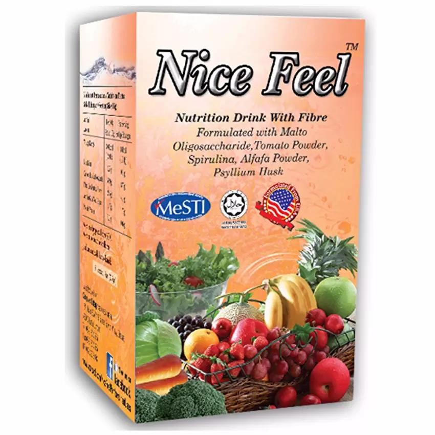 Nice Feel Fiber Nutrition Drink For Constipation/Detox/Cleanse/Diet/Sl