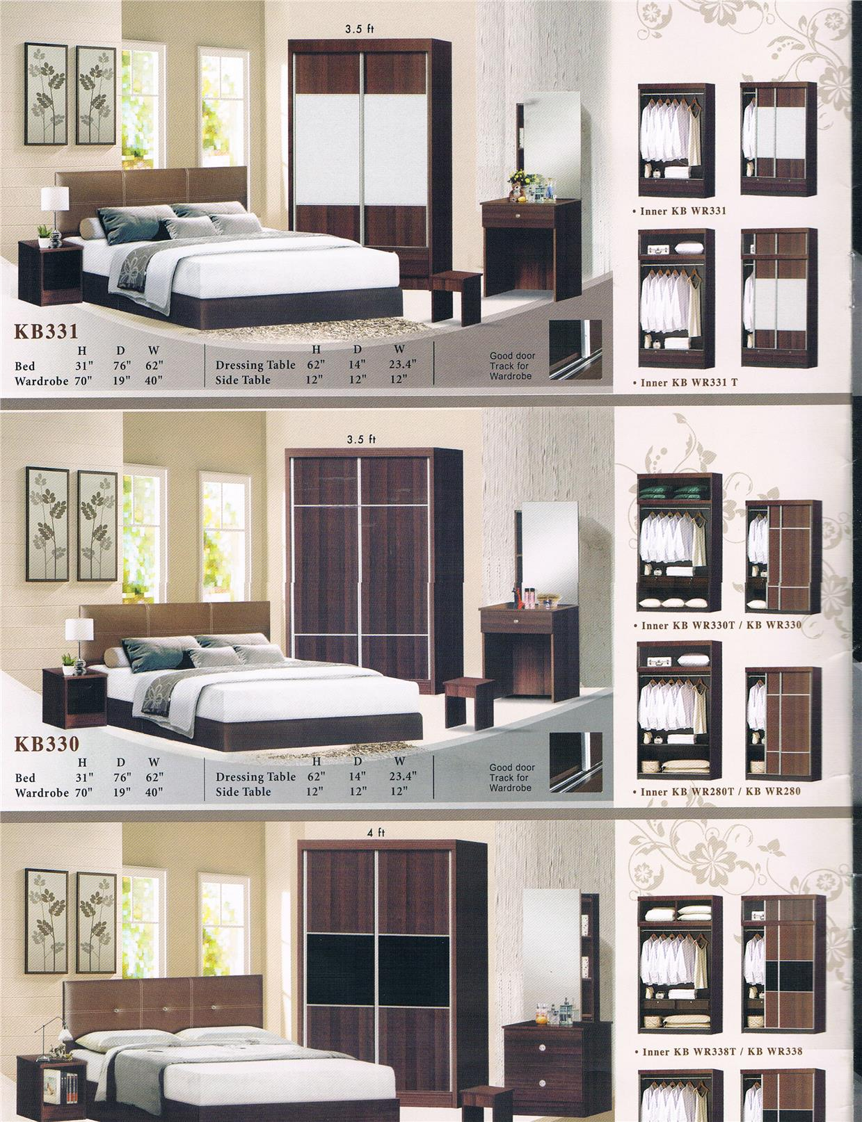 NiceHome Furniture HOT SALE With Wooden 5'bed model - BRS330
