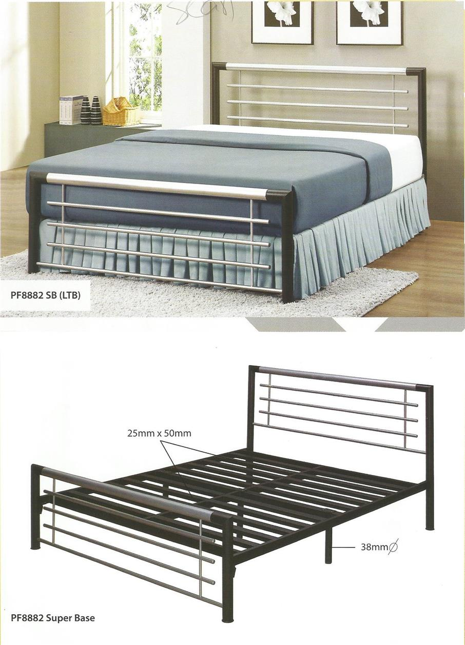 NiceHome Furniture LIMITED SALE QUEEN SIZE Bed katil besi - PF8882'SB