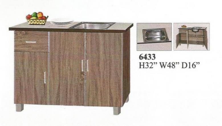 NiceHome Furniture LIMITED Sale! Special offer Kitchen cabinet-6433