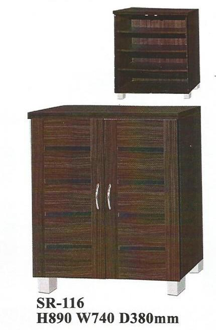 NiceHome furniture special offer 2door Shoe rack cabinet model - SR116