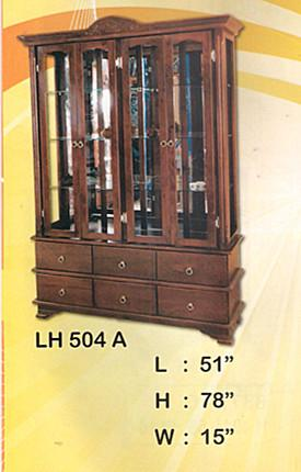 NiceHome Furniture Special Offer Almari Hiasan model - LH 504A