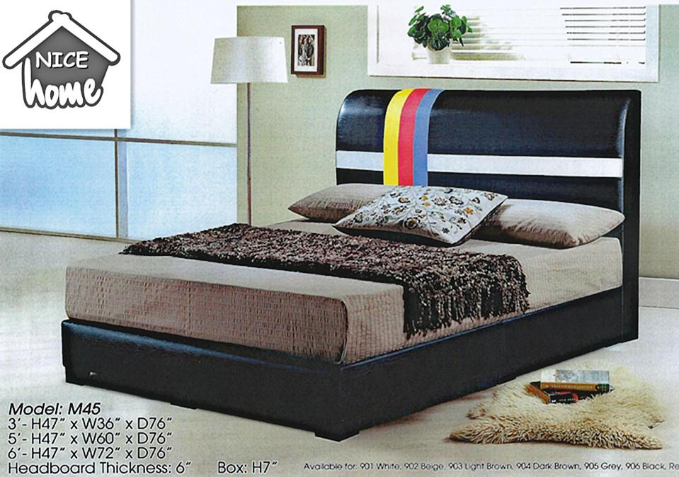 NiceHome furniture special offer divan Queen size 5'bed model-M45
