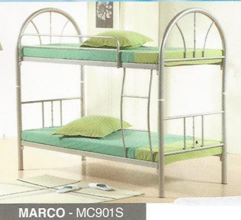 NiceHome Furniture Super Price double decker katil besi - MC901S