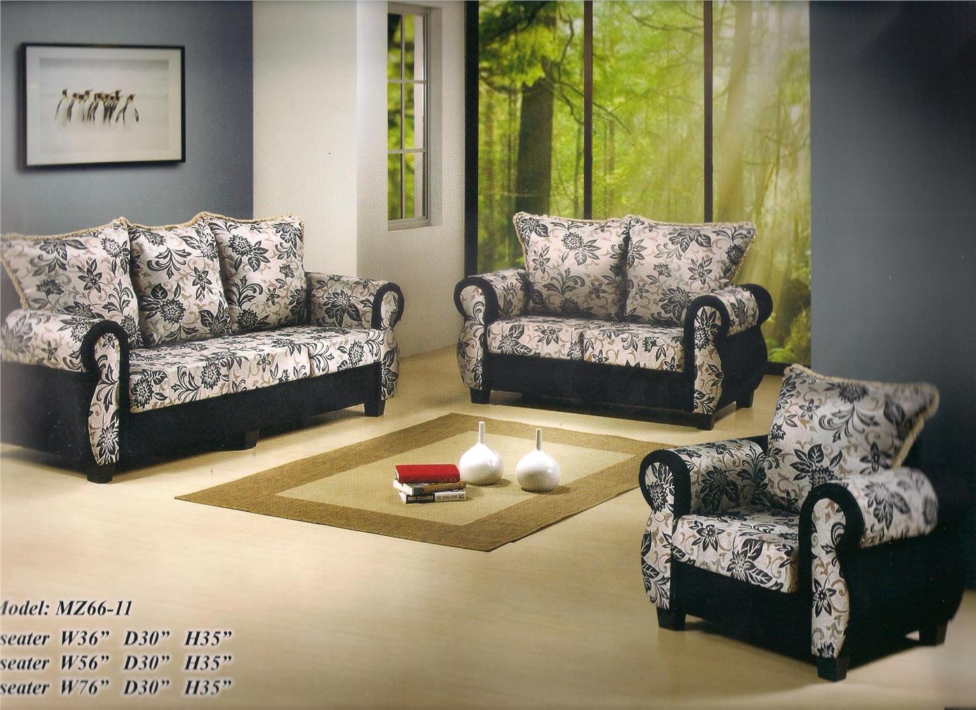 NiceHome low price 3+2+1 seater sofa set Promo model - MZ66-11