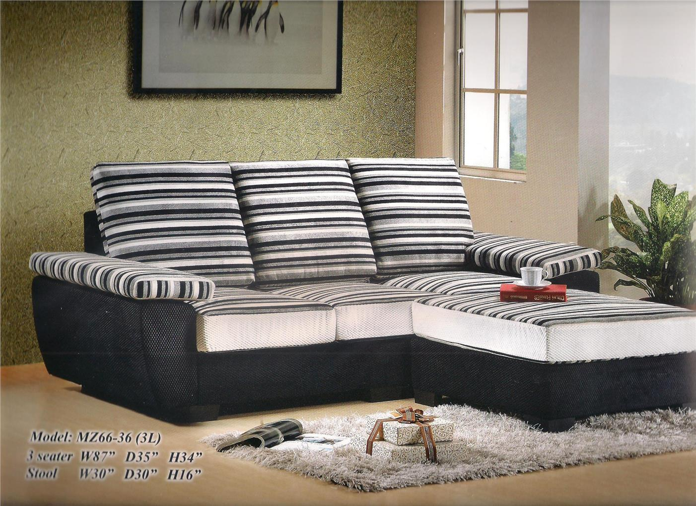 NiceHome low price 3L-shape sofa set Promo model - MZ66-36