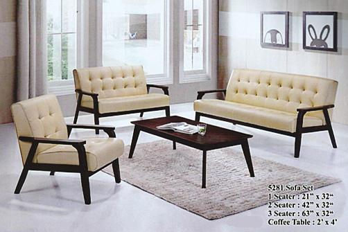NiceHome Set Preminum 1+2+3 CLASSIC sofa set model - 5281