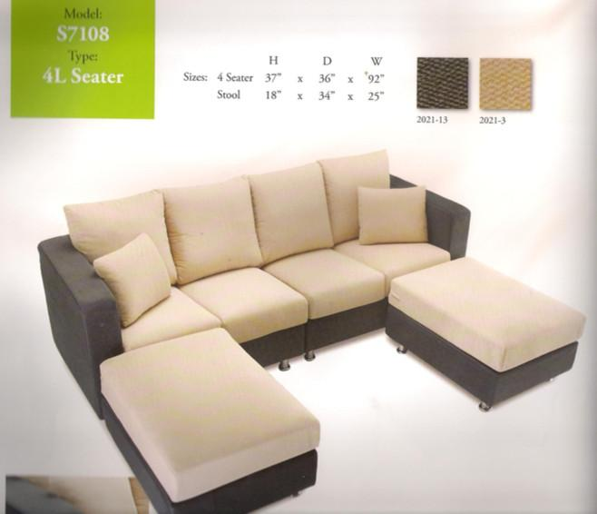 nicehome special offer price sofa 4-L-shape model-S7108