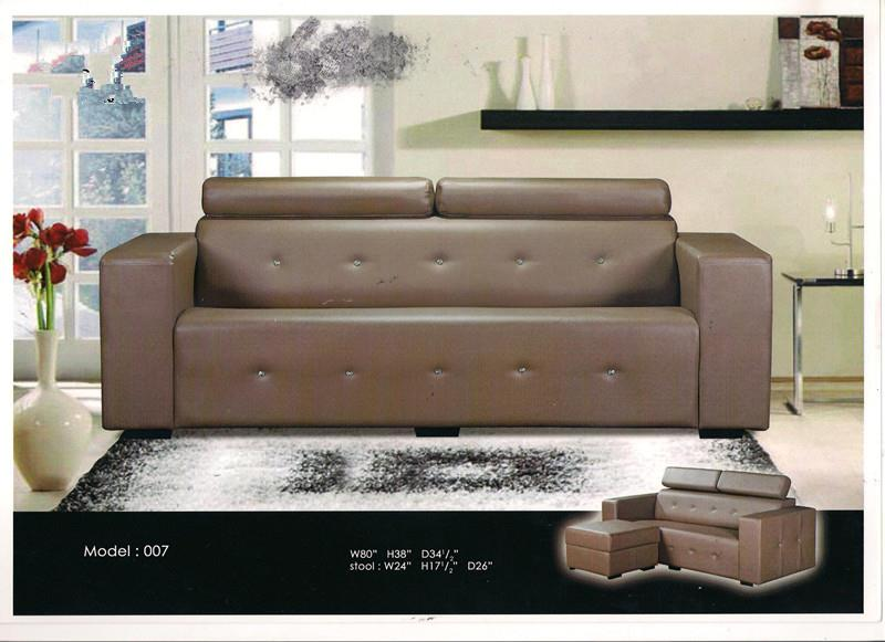 nicehome special offer price sofa L-shape model-007
