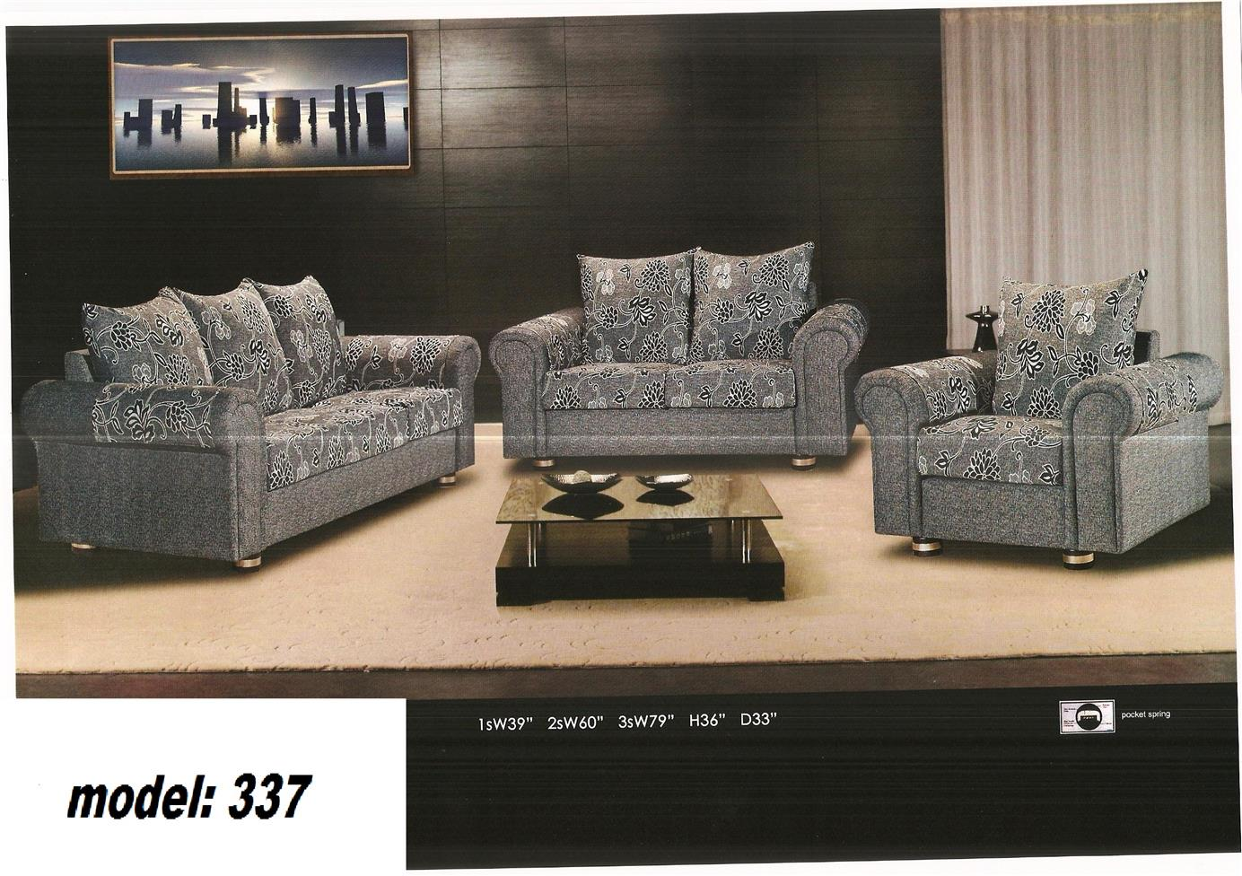 nicehome special offer price sofa1+2+3 model-337
