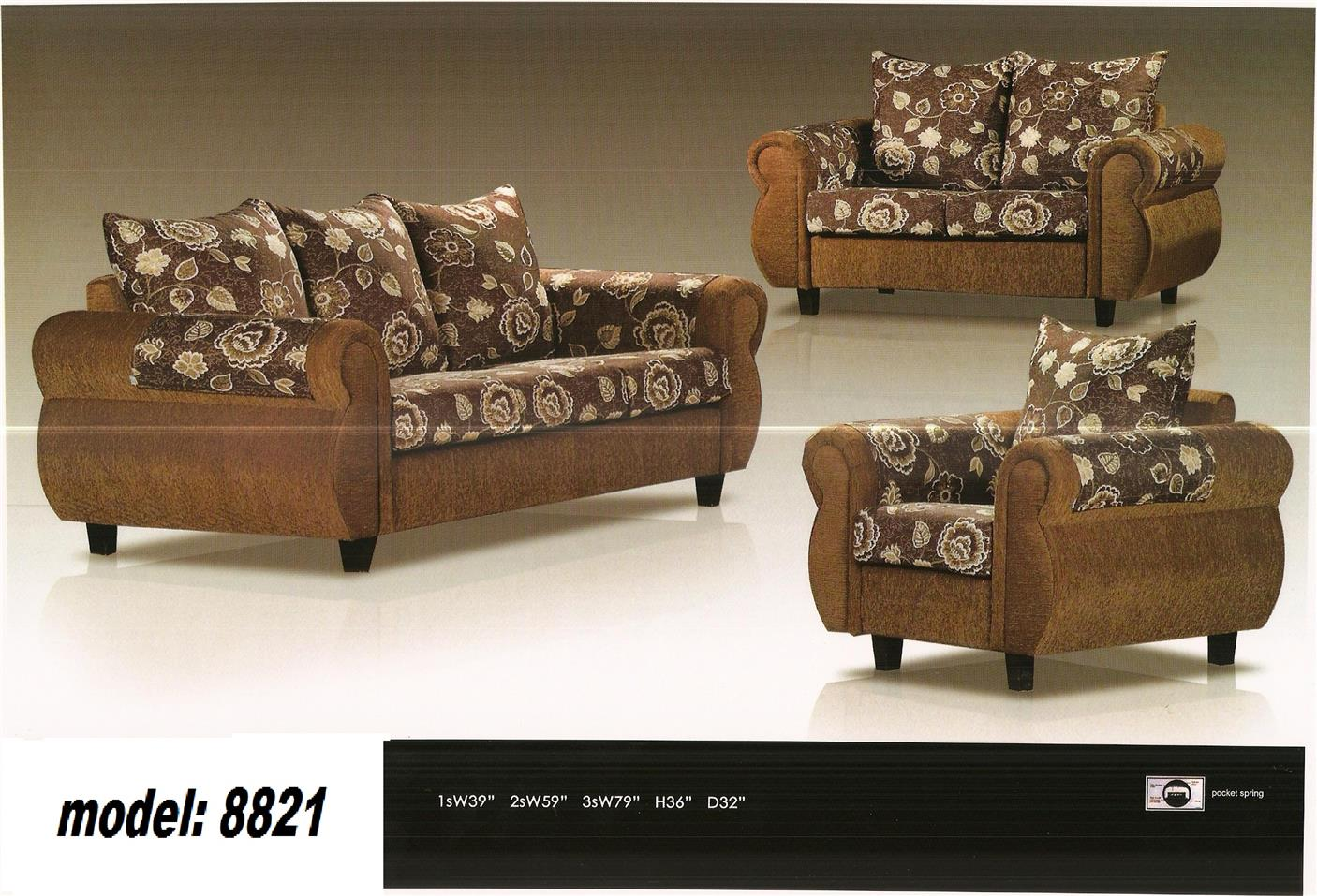 nicehome special offer price sofa1+2+3 model-8821