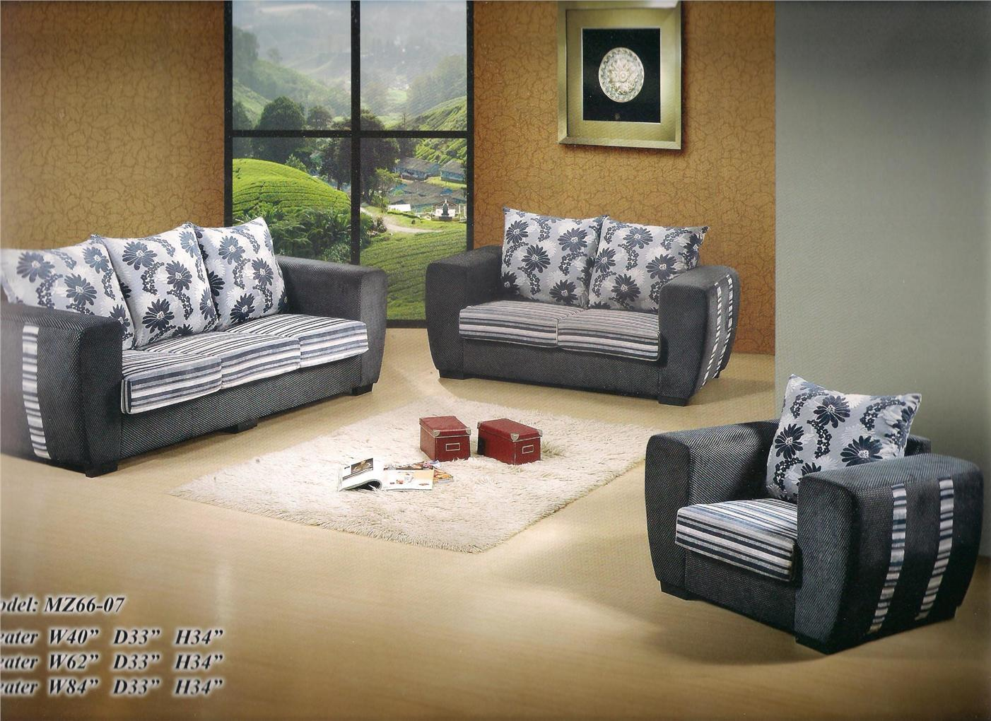 nicehome special offer price sofa1+2+3 model-MZ6607