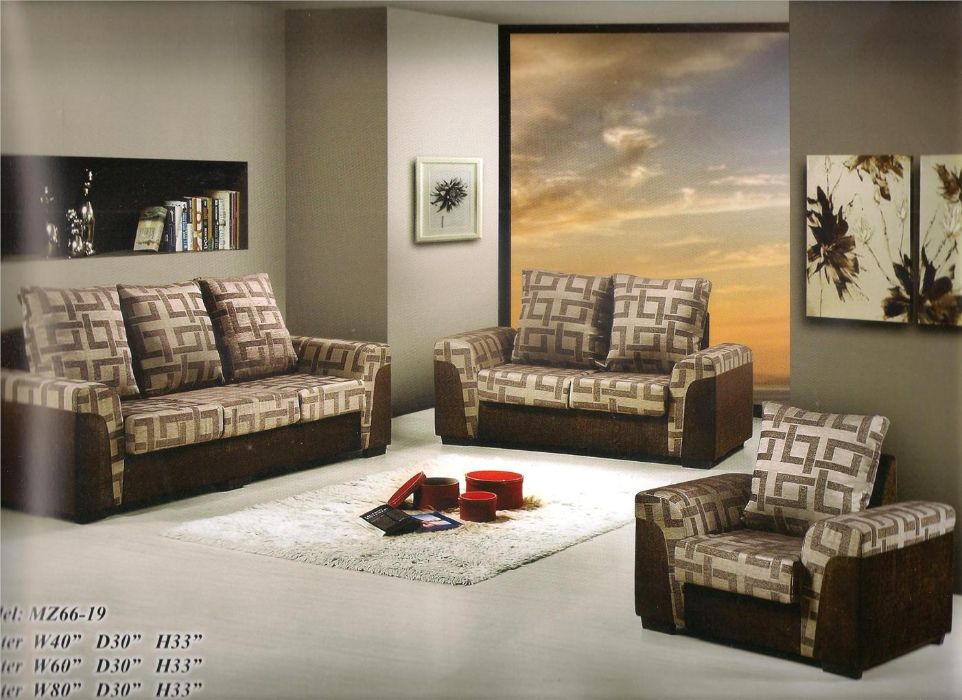 nicehome special offer price sofa1+2+3 model-MZ6619