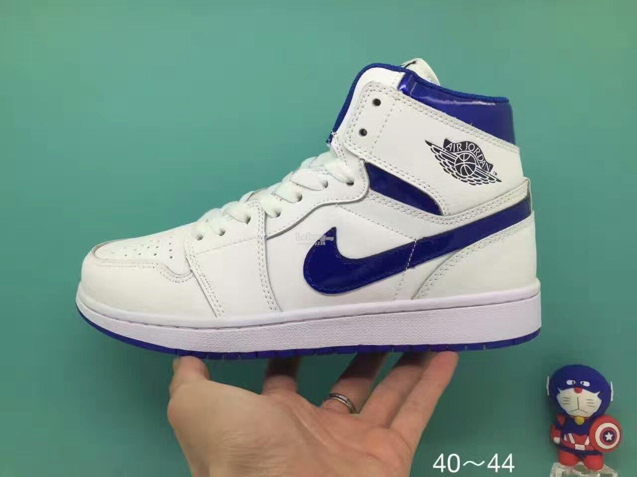 The Nike Air Jordan 1 was Michael Jordan's first signature shoe. Jordan laced up the Air Jordan 1 during his rookie and injury-shortened sophomore season, and then again for his final game at Madison Square Garden as a Bull in
