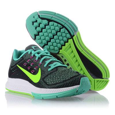 womens nike zoom structure 18 green blue