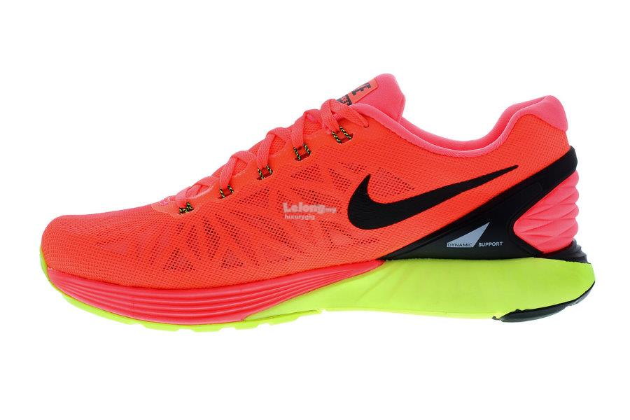 Orange Nike Neutral Ride Running Shoes