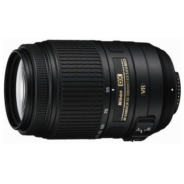 New Nikon 55-300mm f4.5-5.6G AF-S DX ED VR Lens