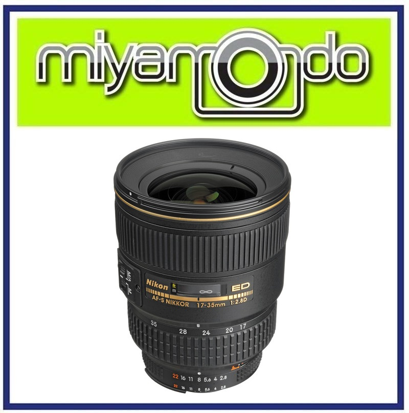 NEW Nikon AF-S 17-35mm F2.8D IF-ED Lens