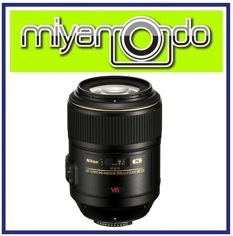 NEW Nikon AF-S VR Micro 105mm f/2.8G IF-ED Lens