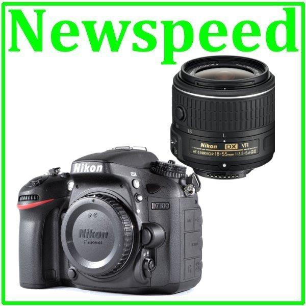 New Nikon D7100 + 18-55mm VR II Lens Digital Camera +8GB+Bag
