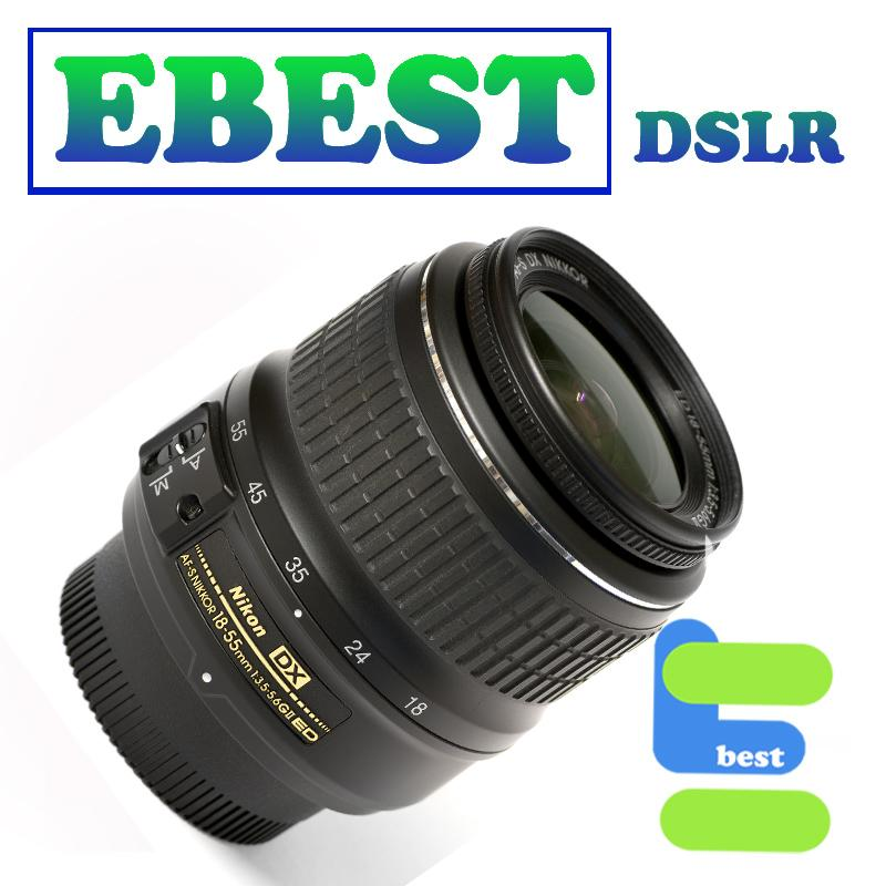 Nikon DX Nikkor AFS 18-55MM F3.5-5.6G FREE UV Filter & Lens Hood