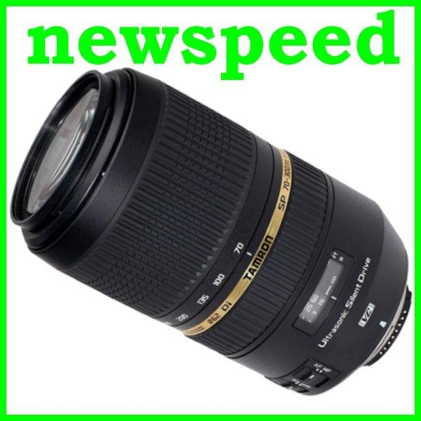 New Nikon mount Tamron 70-300mm F4-5.6 SP Di VC USD Lens