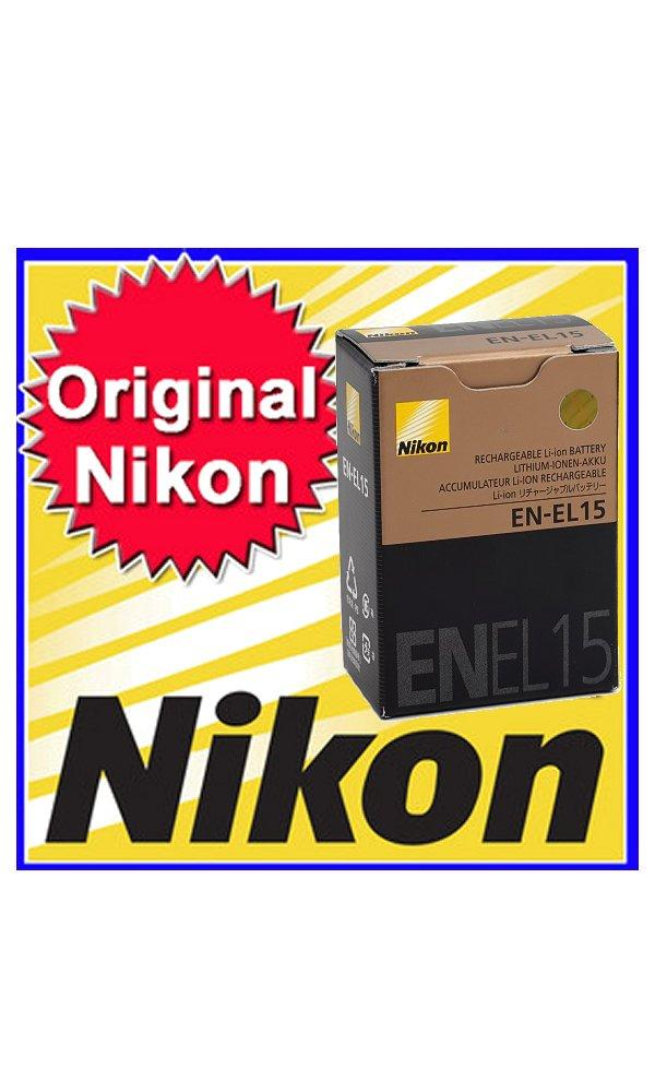 New Nikon Original EN-EL15 Battery for D810 D800e D750 D610 D600 V1