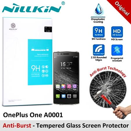 Nillkin Anti-Burst Tempered Glass Screen Protector Oneplus One A0001