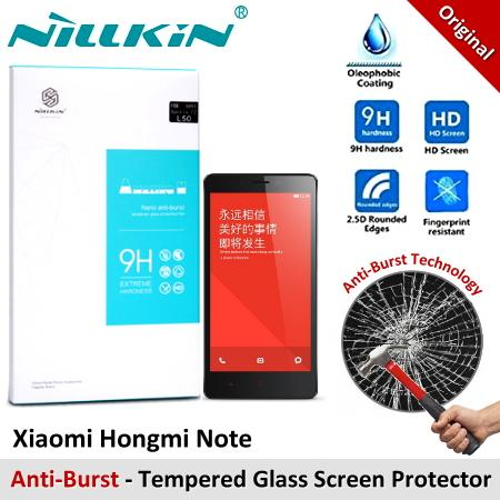 Nillkin Anti-Burst Tempered Glass Screen Protector Xiaomi Hongmi Note