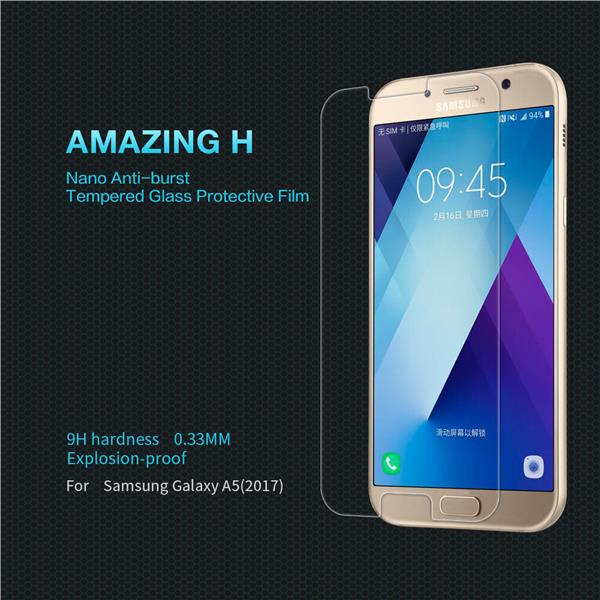 Nillkin Anti Explosion Tempered Glass for Samsung Galaxy A5 2017