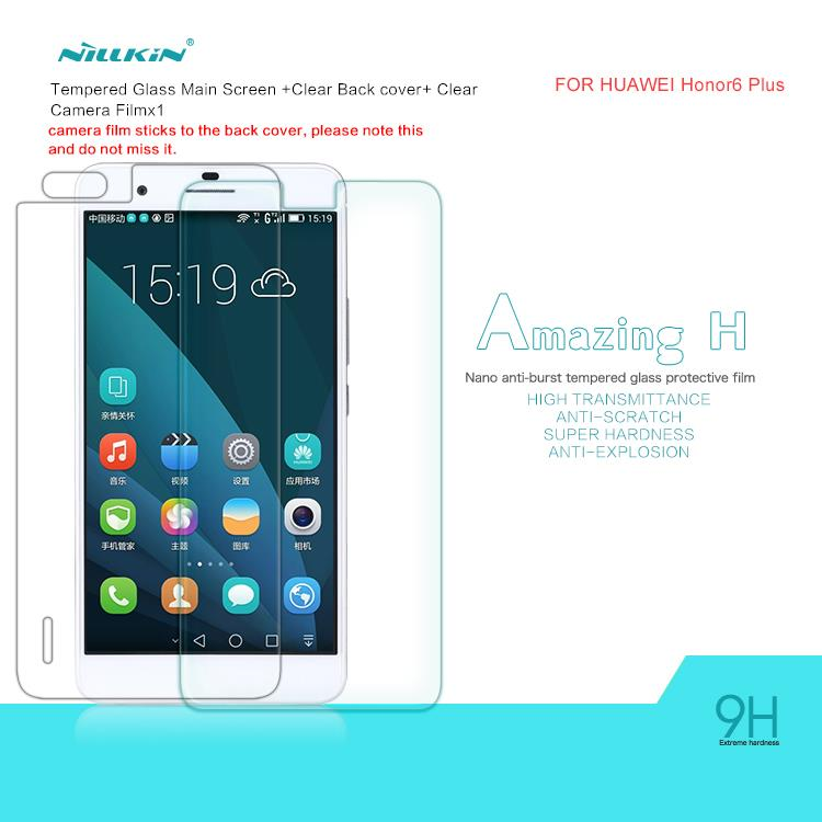 Nillkin Huawei Honor 6+ Plus Amazing H Tempered Glass Screen Protector