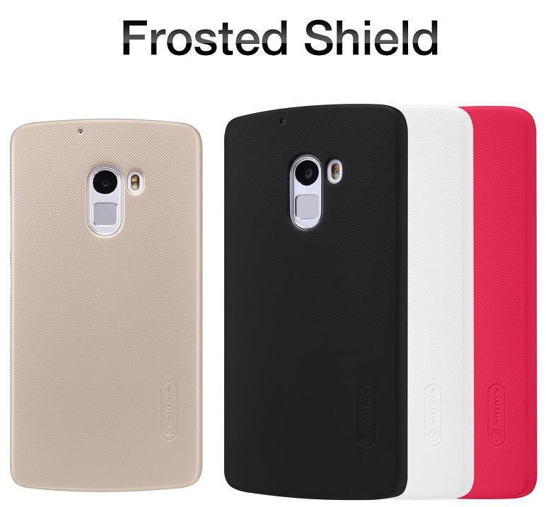 Nillkin Lenovo Vibe X3 Lite K4 Note Frosted Shield Case Cover Casing