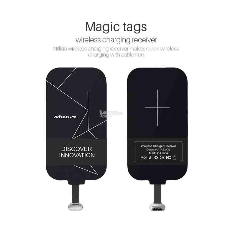Nillkin Magic Tags For TYPE C Wireless Charging Receiver Cable 2CM 3CM