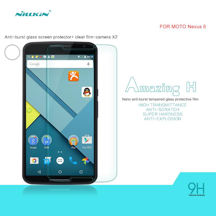 Nillkin Motorola Nexus 6 Amazing H Tempered Glass Screen Protector