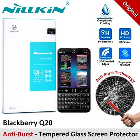 Nillkin Nano Anti-Burst Tempered Glass Screen Protector Blackberry Q20