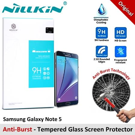 Nillkin Nano Tempered Glass Screen Protector Samsung Galaxy Note 5