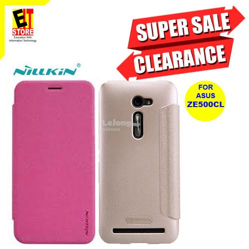 NILLKIN SPARKLE LEATHER CASE FOR ASUS ZE500CL