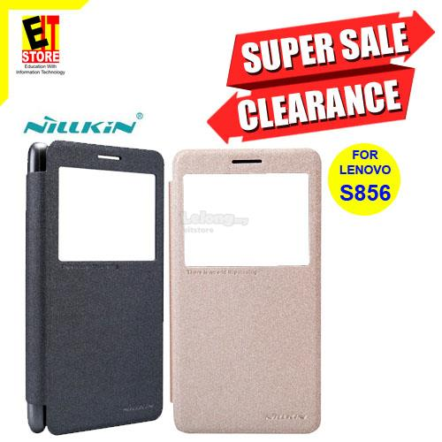 NILLKIN SPARKLE LEATHER CASE FOR LENOVO S856