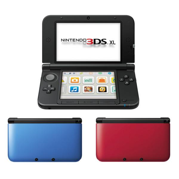 New Nintendo 3DS XL-Asia RED